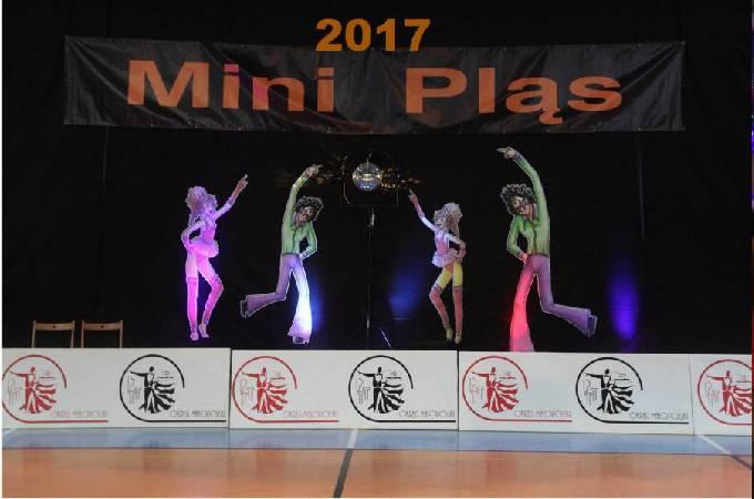 Międzyklubowy Turniej Tańca Mini Pląs 2017