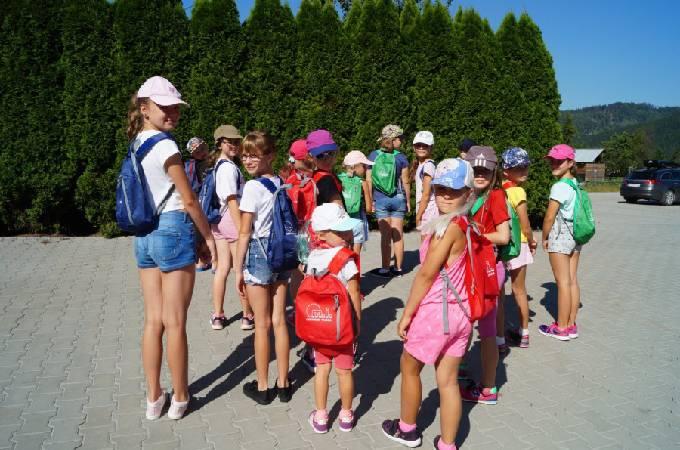 Obóz taneczno-sportowt 2 turnus ISTEBNA 2018