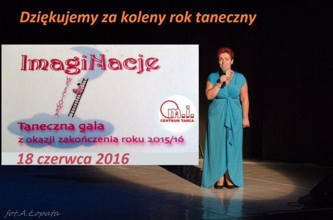 Gala finałowa Imaginacje - zakończenie roku 2015/2016