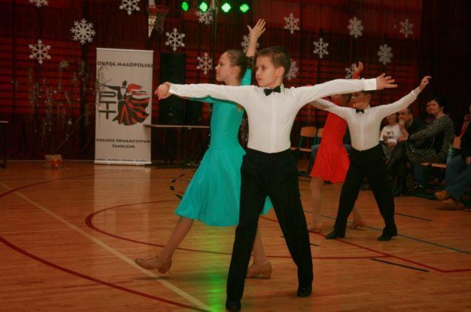 Mikołajkowy turniej tańca wMszanie Dolnej