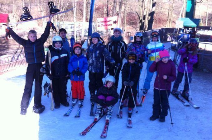 Obóz rekreacyjno-narciarski - Ustroń 2014