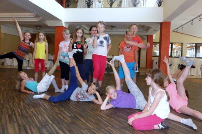 Obóz taneczno-sportowy Kosarzyska 27.07-07.08.2014