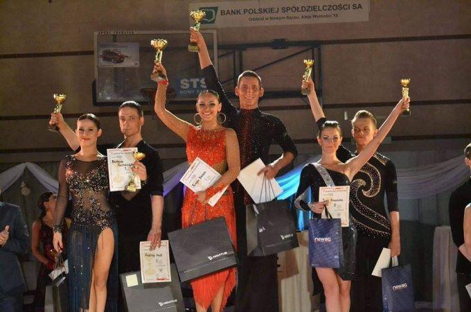Ogólnopolski Turniej Tańca Towarzyskiego wNowym Sączu