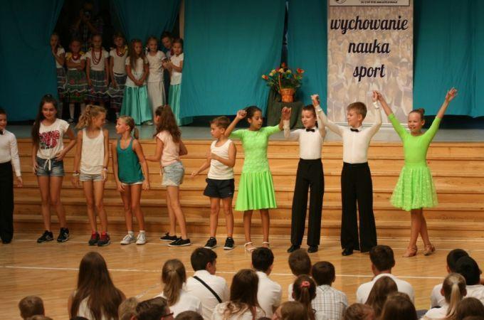 Rozpoczęcie nowego roku szkolnego-tanecznego 2015/2016